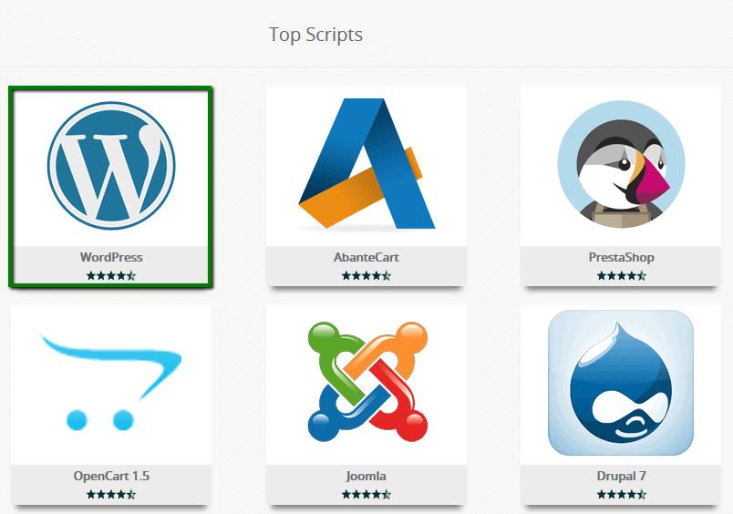 Installing WordPress on Namecheap in cpanel