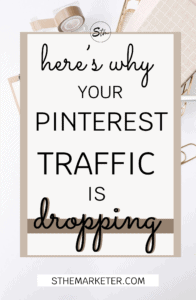 7 Reasons Why your Pinterest Traffic is Dropping & How to Fix it