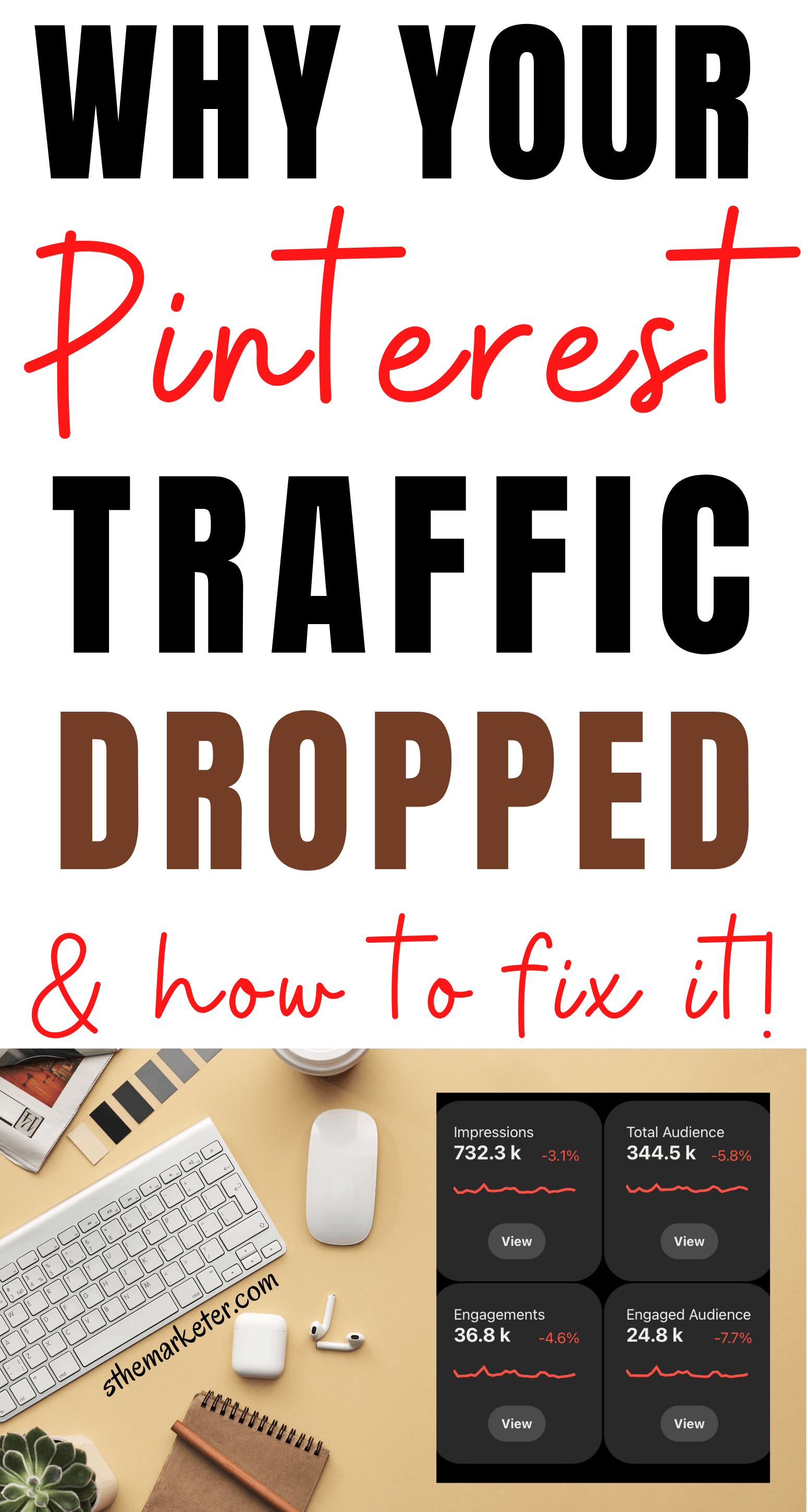 Why has my Pinterest Traffic Dropped? And How to Fix it